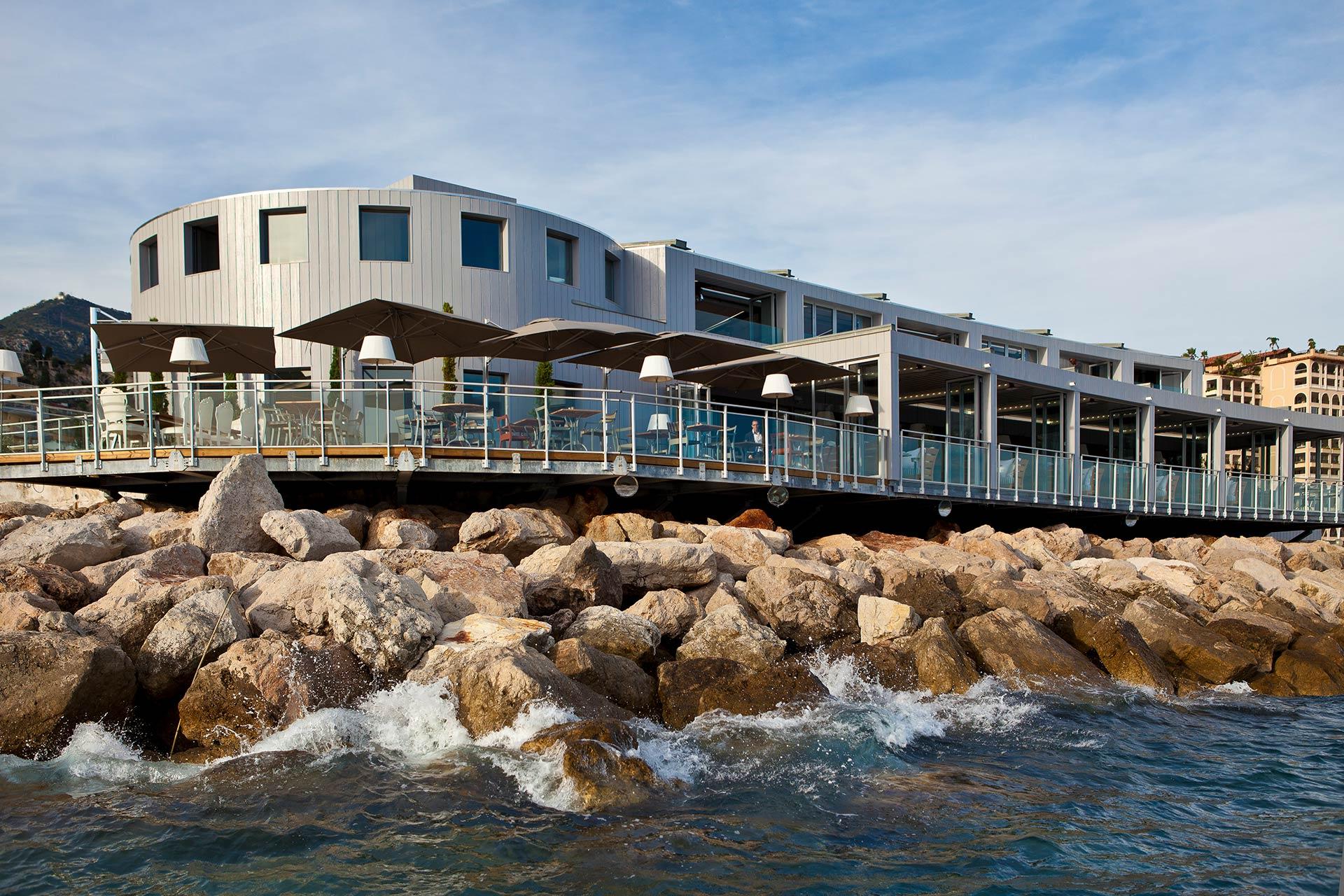 Bar Restaurant Monaco Cap d'Ail Bor de Mer