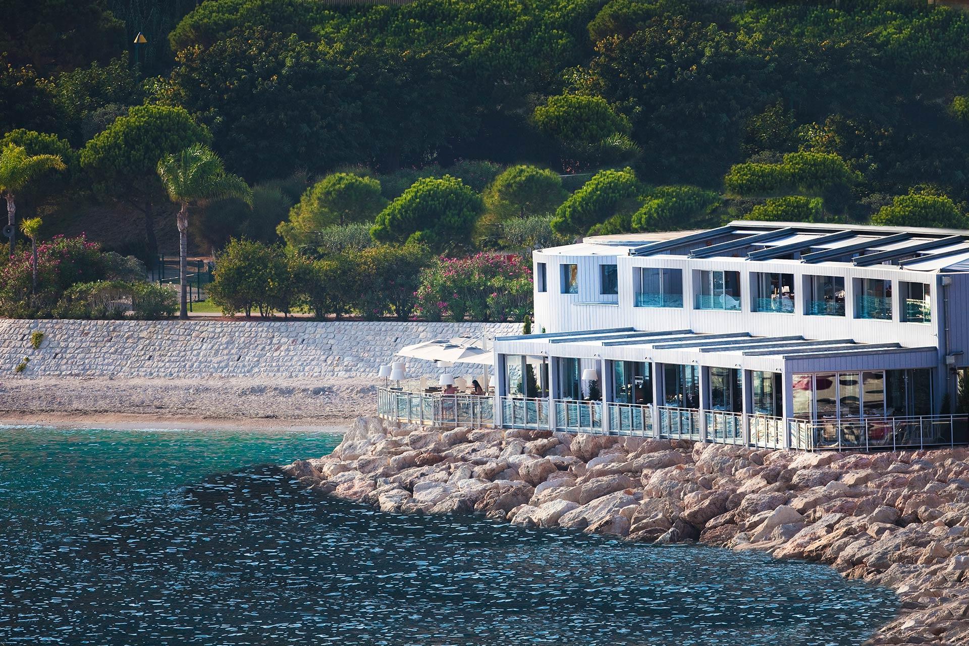 Restaurant Monaco Cap d'Ail Bord de Mer